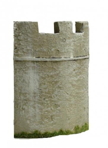JG Miniatures - M43 c - Roman fort quadrant corner