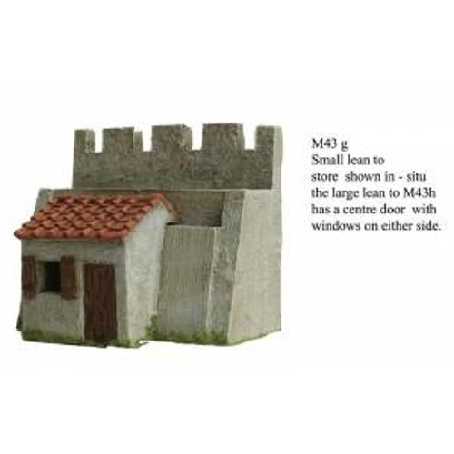 JG Miniatures - M43 g - Roman fort small lean to store house