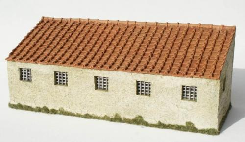 JG Miniatures - M43 i - Roman fort barrack facade