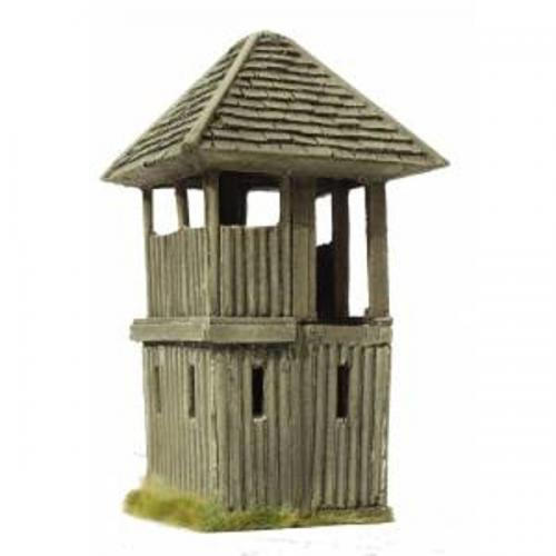 JG Miniatures - M44 c - American log fort corner watch tower