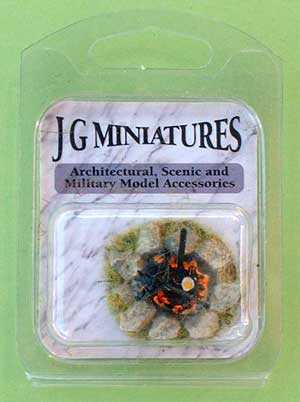 JG Miniatures - M49 - Camp fire