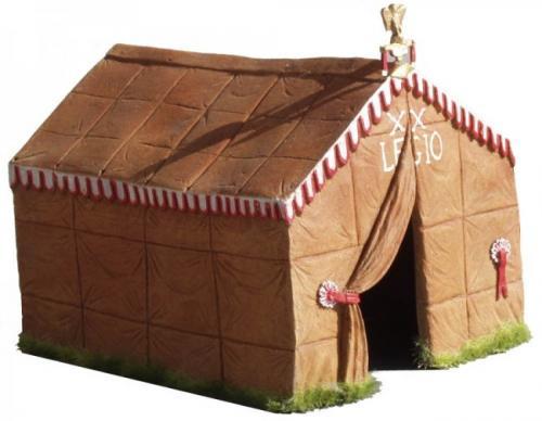JG Miniatures - M51 - Roman commanders tent