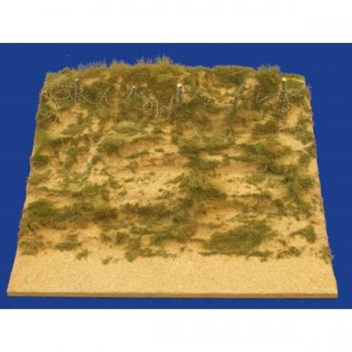JG Miniatures - M52 c -D-day beach section with long dune