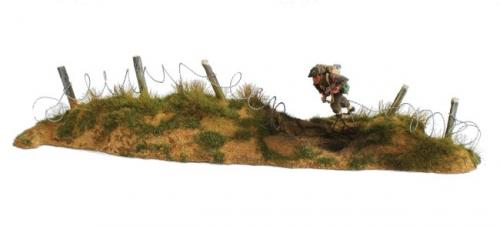 JG Miniatures - M53 e - Long dune with barbed wire