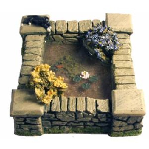 JG Miniatures - MG09 - Ornamental pond