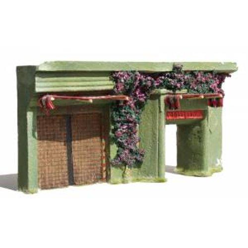 JG Miniatures - N05 - Ground floor asian or indian building with double doors