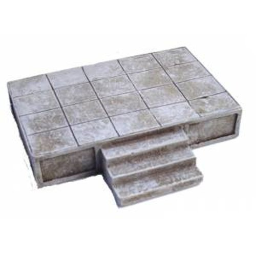 JG Miniatures - N12 - Stone platform or podium for slaves