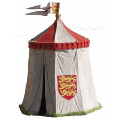 JG Miniatures - N22 - Medieaval campaign tent-richard 1st