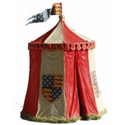 JG Miniatures - N22 a - Medieaval campaign tent Edward 3rd to Henry 5th
