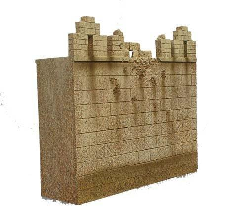JG Miniatures - N24 b - Ancient City wall