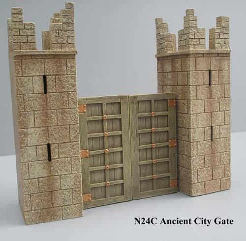 JG Miniatures - N24 c - Ancient City Gate