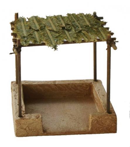 JG Miniatures - N25 a - Ancient Market Stall