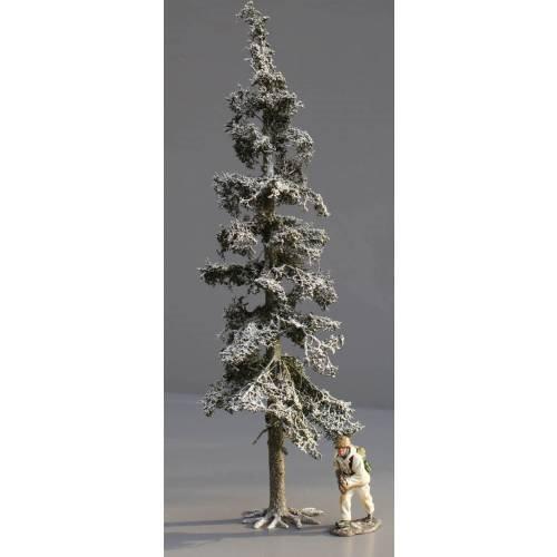 JG Miniatures - S05B - Tall Winter Fir (grand sapin enneigé)