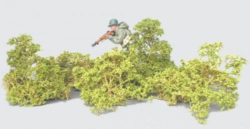 JG Miniatures - S08B - Small leaf bushes (petit buisson feuillu)