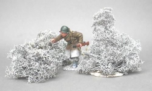 JG Miniatures - S08C - Winter bushes (buissons d'hiver)