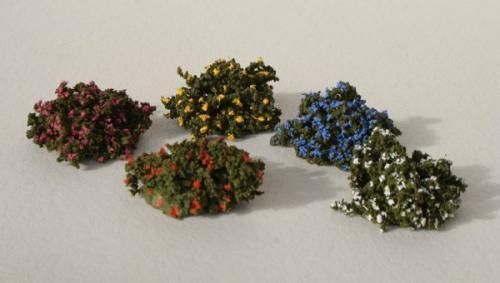 JG Miniatures - S08 - Mixed flowering bushes (buissons fleuris)