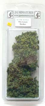 JG Miniatures - S08a - Bag of mixed bushes (green)
