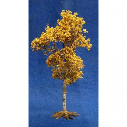 JG Miniatures - S09D - Birch Tree in Autumn (bouleau en automne)
