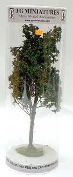 JG Miniatures - S14 - Mountain Ash (arbre vert de montagne) dans sa boîte