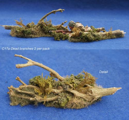 JG Miniatures - S17A - Dead Branches