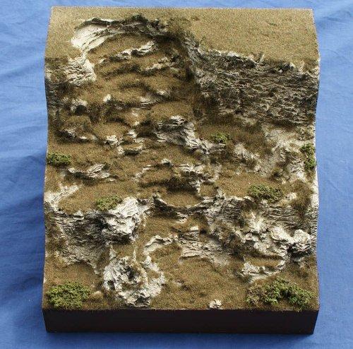 JG Miniatures - S22E - Cliff section