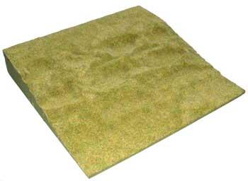 JG Miniatures - S22a - Green grass slope (12X12 ou 30 cm x 30 cm)