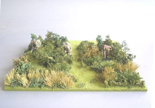 JG Miniatures - S24 - Scrub  Undergrowth