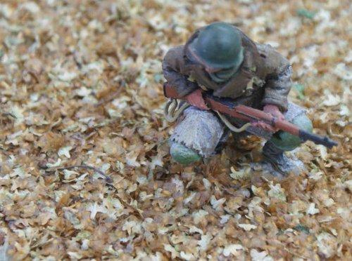 JG Miniatures - S25A - Leaf litter (tapis de feuilles)