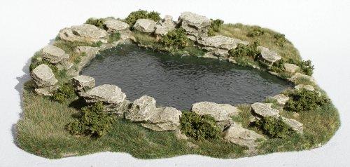 JG Miniatures - S28 - Large natural pond (grand étang naturel)