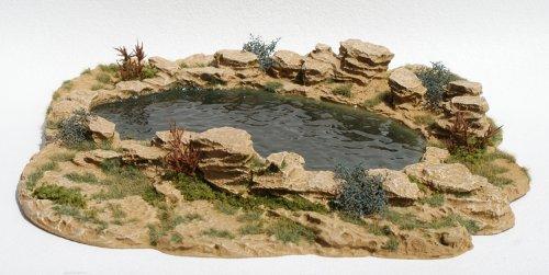JG Miniatures - S29 - Desert oasis (oasis du désert)