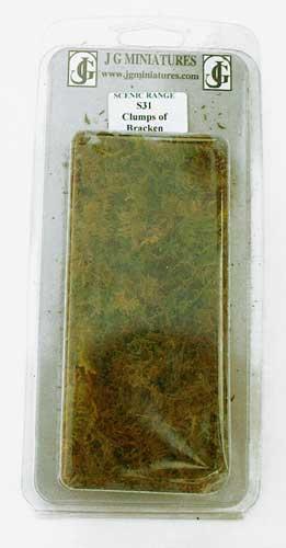 JG Miniatures - S31 - Clumps of bracken box of 10