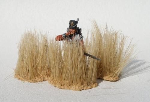 JG Miniatures - S33 - Long dry grass clumps (graminées longues et sèches)