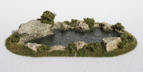 JG Miniatures - S36 - Small natural pond (petit étang naturel)