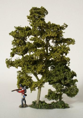 JG Miniatures - S42 - Woodland tree section (partie boisée d'arbres)