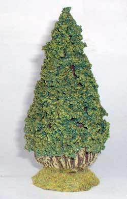 JG Miniatures - S43 - Lawson cypress tree