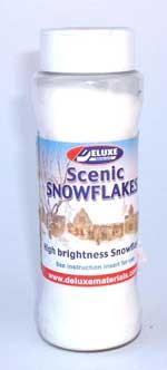 JG Miniatures - S46I - Scenic Snowflakes - neige pour diorama