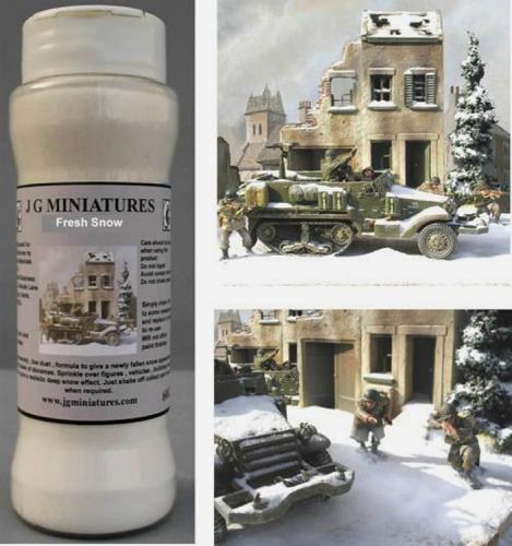 JG Miniatures - S46I - Snow for diorama