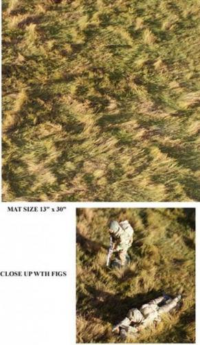 JG Miniatures - TM03 - Rough pasture mat