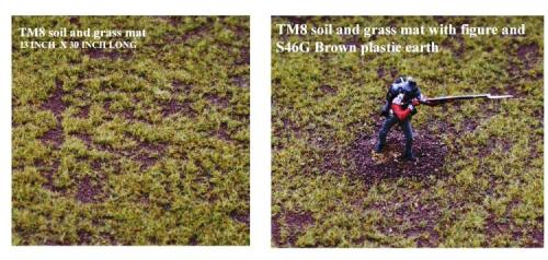 JG Miniatures - TM08 - Soil and grass mat