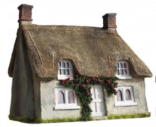 JG Miniatures - C17 - Thatched cottage