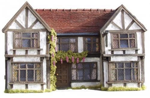 JG Miniatures - C06 - Tudor Inn Facade