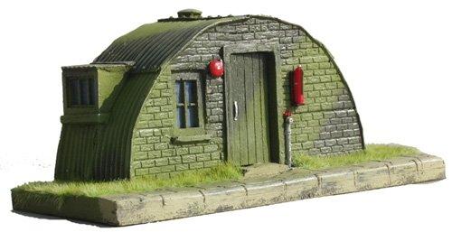 JG miniatures - M31 - Nissen hut facade