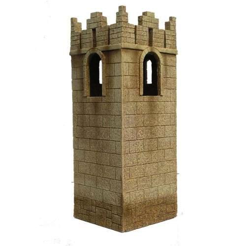 JG miniatures - N24 a - Ancient City Corner tower