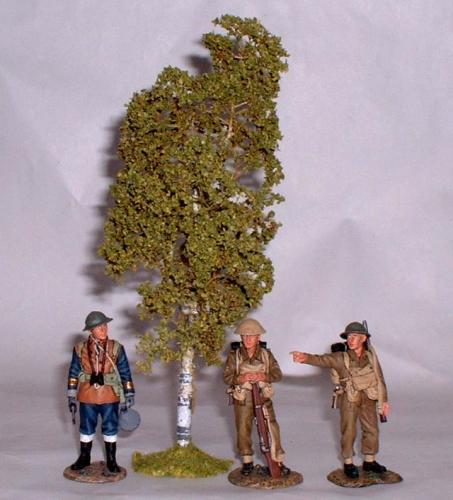 JG Miniatures - S09 - Birch tree (bouleau)