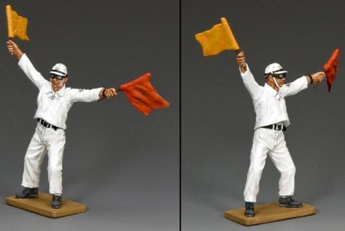 JN004 - Flight Deck Flag Man