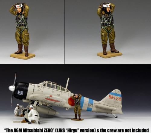 JN006 - Imperial Navy Pilot with Headband