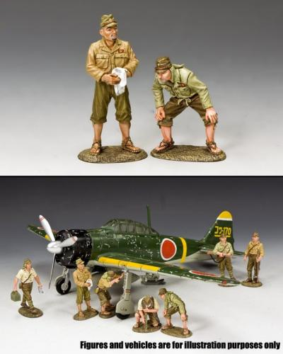 JN020 - Ground Crew Set 1, Imperial Japanese Army
