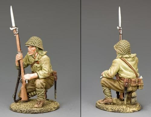 JN033 - Japanese Kneeling Rifleman with Grenade