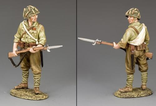 JN035 - Japanese Standing with Rifle and Bayonet