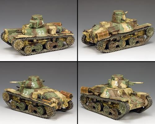 JN041 - Type9 5 Ha-Go Light Tank (2nd version)